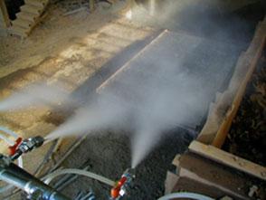 buses de pulvérisation GSIM pour suppression de poussière